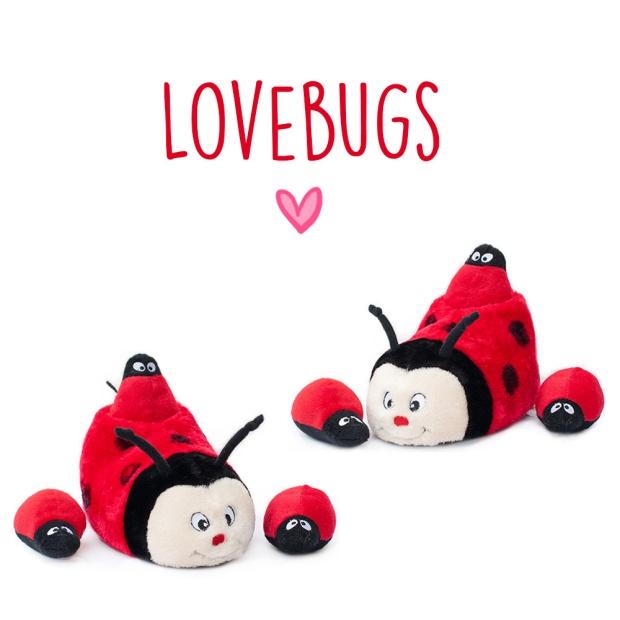ZippyPaws Slipper Nest Ladybug